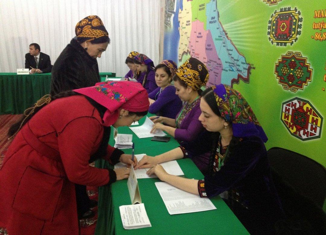Вибори в Турменістані // Фото: REUTERS