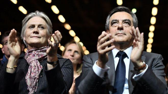 Пенелопа Фійон (ліворуч) та Франсуа Фійон