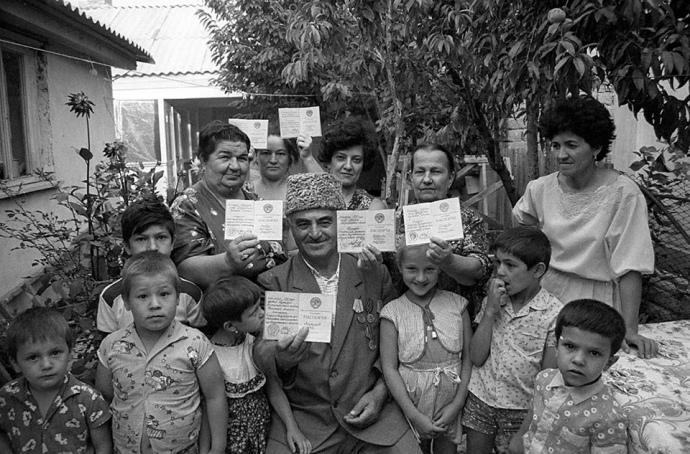Повернення кримських татар на Батьківщину