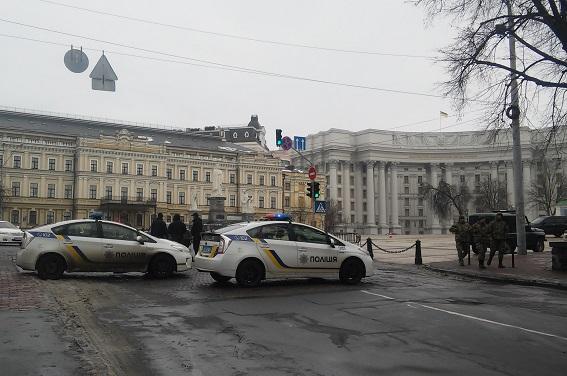 Фото: Отдел коммуникации полиции Киева