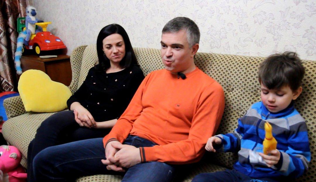 Абаевы Елена, Роман, Владик