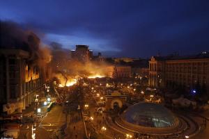 Штурм Майдану. Ніч 18/19 лютого 2014 року. Відео
