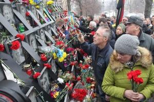 Ucrania conmemora a los Héroes de la Centena Celestial