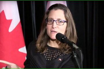 Außenministerin Kanadas unterstützt UN-Blauhelmmission im Donbass