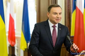 Duda, Erdogan insist on resumption of territorial integrity of Ukraine