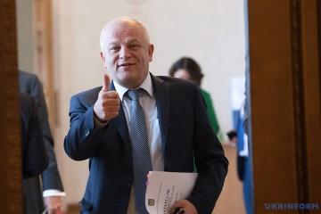 Kúbiv presenta el potencial económico-comercial y de inversión de Ucrania en la cumbre en Mumbai
