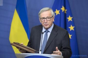 Jean-Claude Juncker: L'UE continuera à soutenir le chemin de la réforme et la souveraineté de l'Ukraine