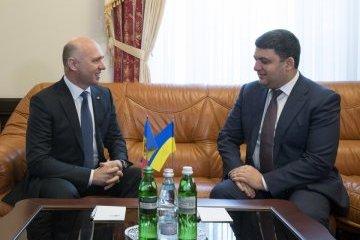 Гройсман сподівається, що демаркацію кордону з Молдовою цьогоріч завершать