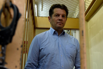 Sushchenko thanks Ukrainian and foreign journalists for support and solidarity