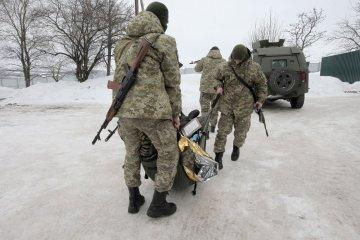En la ATO dos soldados ucranianos resultan heridos