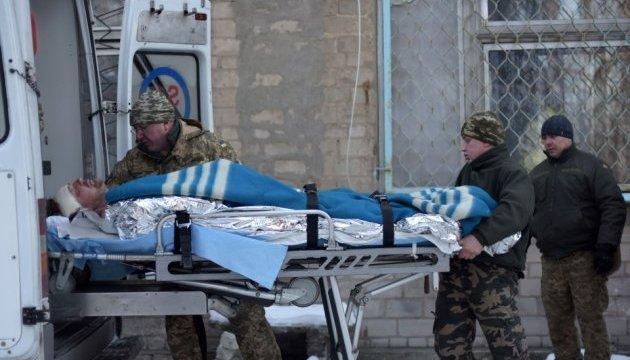 Раненых везут в больницу Авдеевки