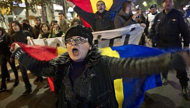 У Румунії протестанти не розходяться попри 20-градусні морози