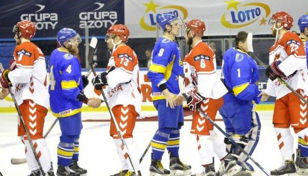Збірна України з хокею 9-11 лютого зіграє на Єврочеленджері у Катовіце
