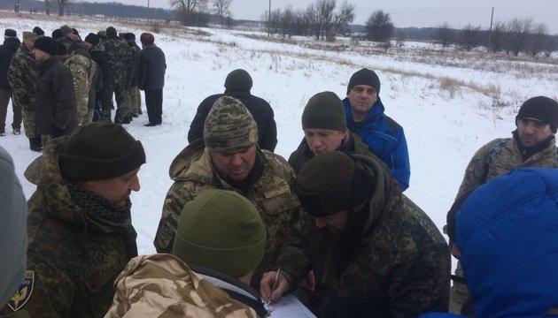Навчальні збори батальйонів територіальної обороні Київської області