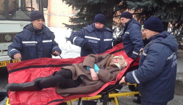 Desde Avdiivka ya han evacuado a 175 personas, incluidos 94 niños