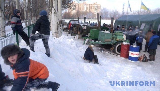 Международные организации привезли гуманитарную помощь в Авдеевку