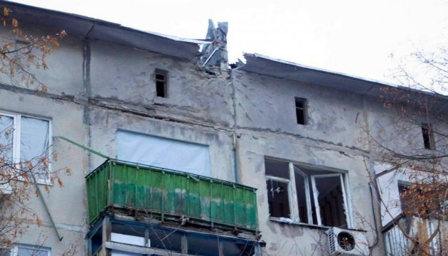 Из-за боевых действий в Луганскон области разрушены свыше 7000 домов - губернатор