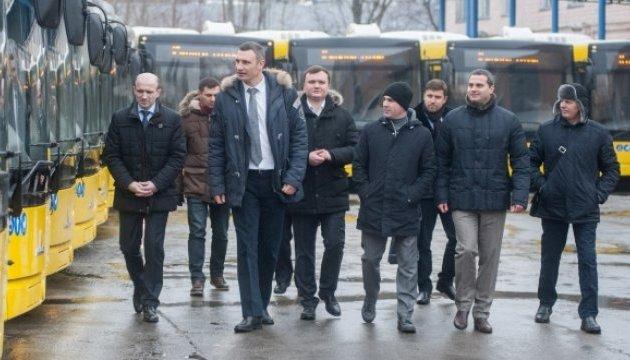 У Києві за тиждень вийдуть на маршрути 50 нових автобусів