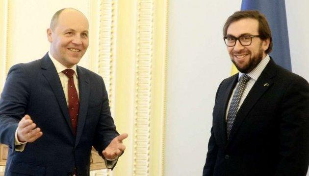Парубий надеется на скорейший визит в Украину председателя ПА НАТО