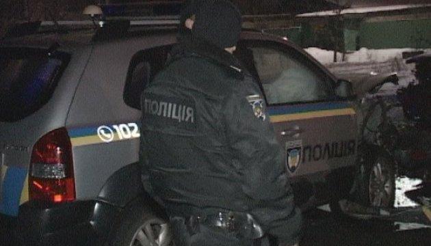 В Киеве преступники выкрали иномарку вместе с пассажиркой