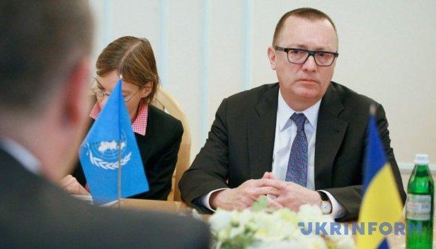 ООН призвала прекратить огонь на Донбассе и возобновить переговоры по