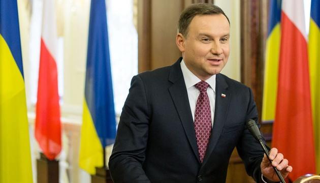 Посольство Польши готовит визит Дуды в Украину
