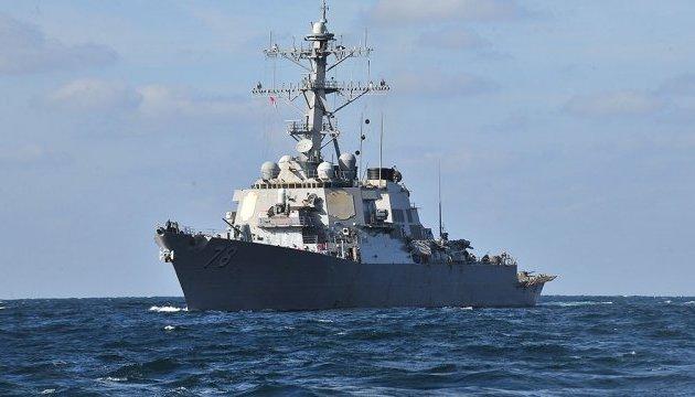 Зіткнення есмінця США і танкера: водолази знайшли тіла моряків