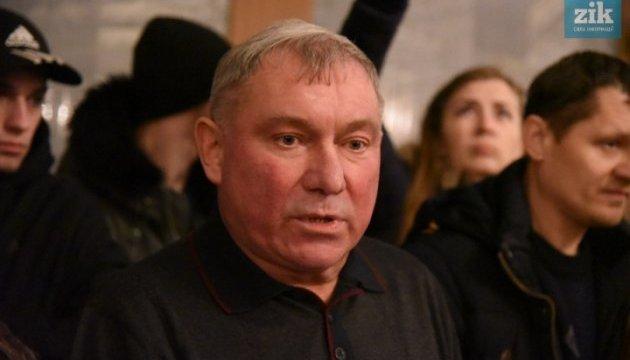 Протестувальники у Львові примусили суддю написати заяву на звільнення