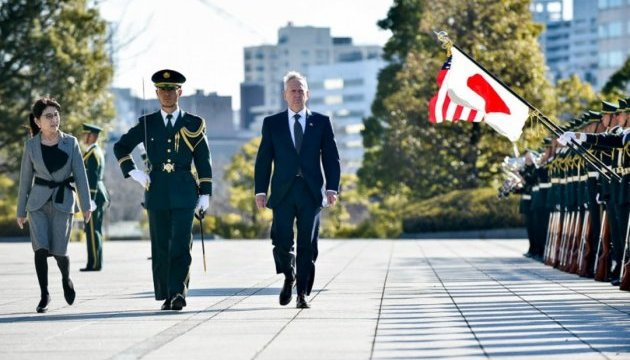 Япония надеется на укрепление военного партнерства с США и Южной Кореей