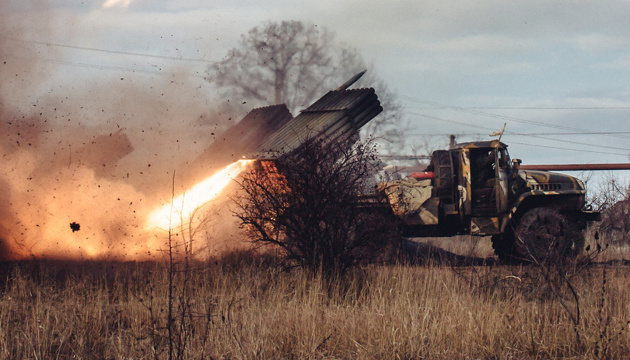 Militants launch 78 attacks on Ukrainian troops in Donbas in last day