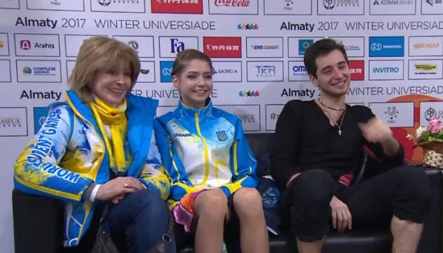 Тренер украинской танцевальной пары: