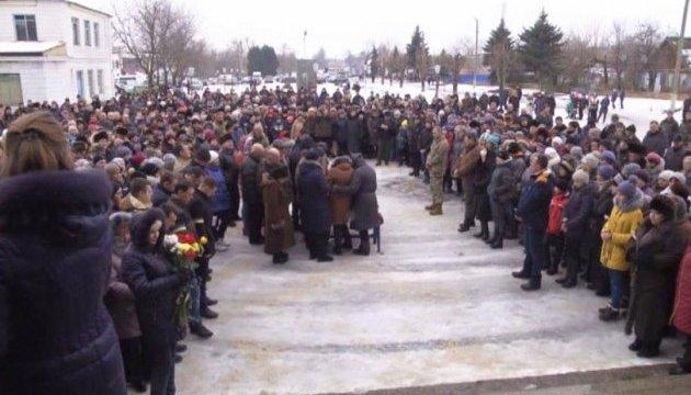 Поховали санінструктора, яку російські найманці розстріляли з ПТУРа в медичній машині