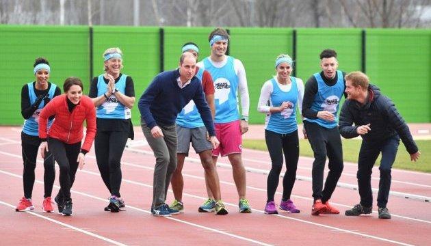 Принц Гарри победил брата на марафонской тренировке
