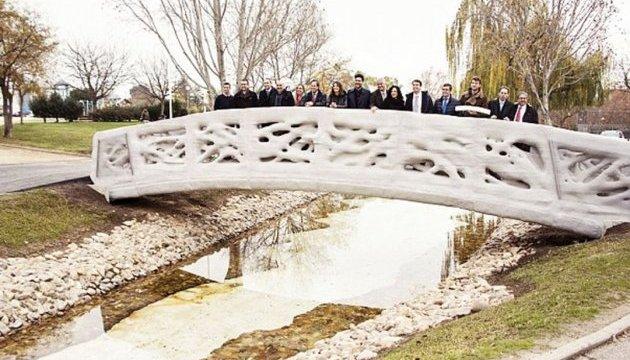 В Мадриде построили мост, напечатанный на 3D-принтере