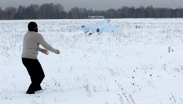 Военные тестируют украинский дрон