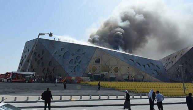 Пожар в оперном театре Кувейта: обошлось без жертв