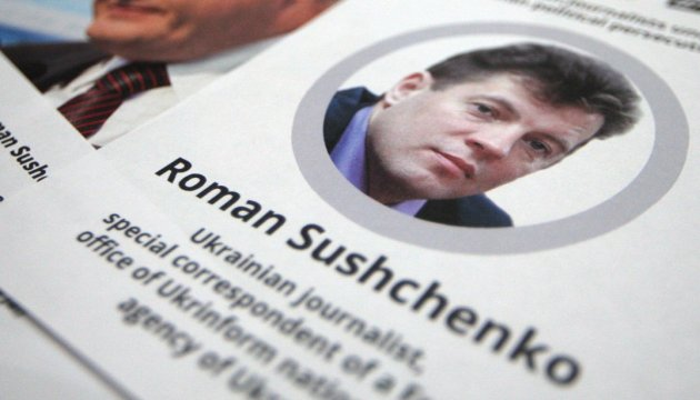 Embassy of Ukraine in Poland calls on world community to put pressure on Russia to free Sushchenko