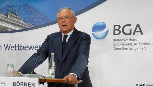 Глава BGA призывает немецких бизнесменов говорить с Трампом более жестко