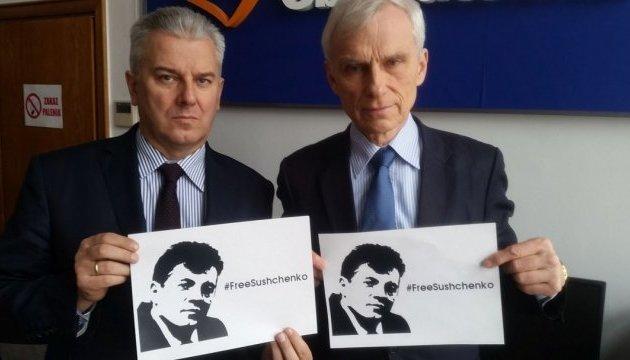 #FreeSushchenko: депутаты Сейма приобщились к акции в поддержку журналиста