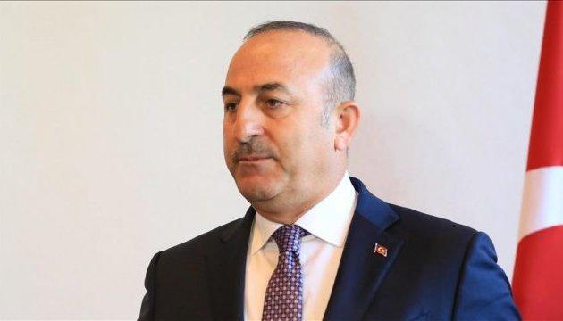 В Україну їде глава МЗС Туреччини