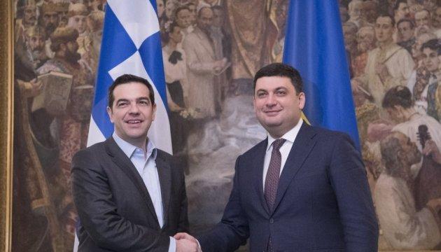 Премьеры Украины и Греции договорились о межправительственной комиссии