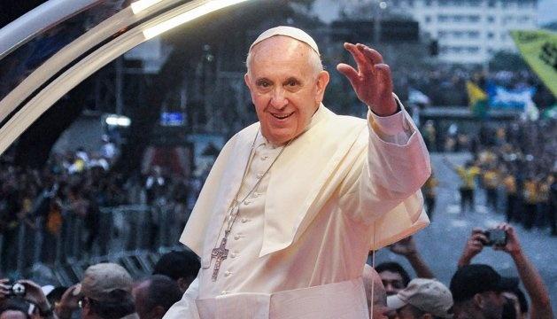 Папі Римському подарували ікону митця з Тернопільщини