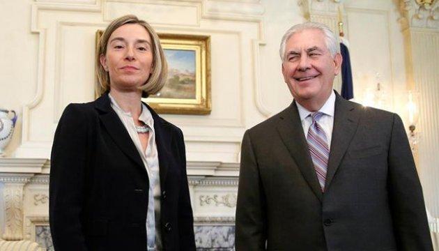 Могеріні та Тіллерсон поговорили про Україну та РФ