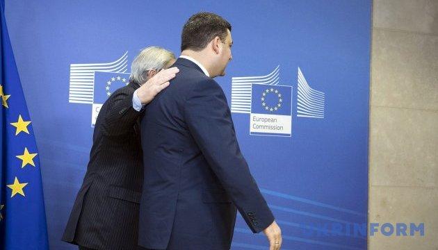 ЕС разблокировал второй транш в €600 миллионов для Украины – Юнкер