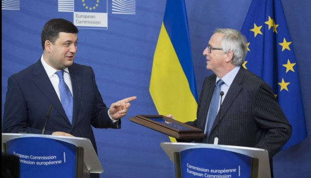 Groysman invites Juncker to Eurovision in Kyiv