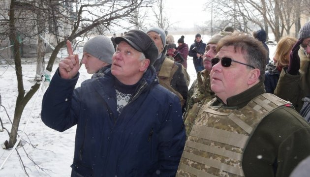 Linkevičius says he obtained irrefutable proofs of Russian aggression after visiting Avdiivka