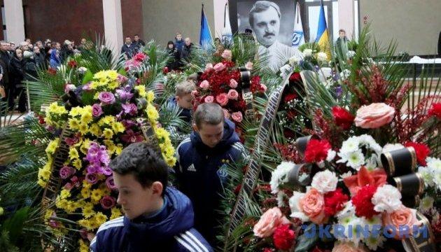 В Киеве попрощались с Виктором Чановым