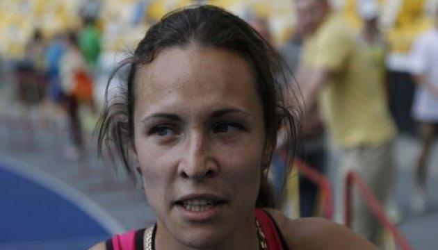 Украинская легкоатлетка завоевала