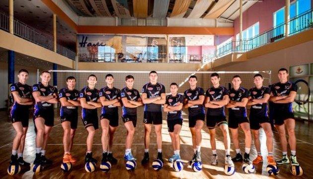 Волейболисты львовского клуба