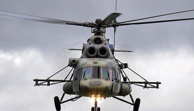 У російському Хабаровську вертоліт впав прямо посеред вулиці: є жертви